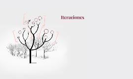 Iteraciones