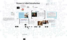 Romeo & Juliet Introduction