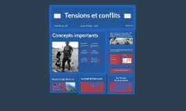 Tension et conflit