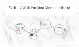Writing With Fashion Merchandising
