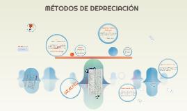 Copy of MÉTODOS DE DEPRECIACIÓN