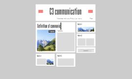C3 communication