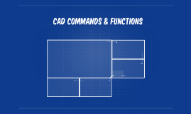 Cad Commands & their functions