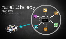 EDUC 4P27 Moral Literacy
