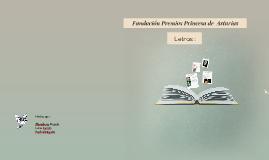 Fundación Premios Princesa de  Asturias