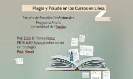 ¿Conoces los conceptos de plagio y fraude?