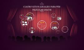 CUATRO SITIOS (LEGALES) PARA VER PELÍCULAS GRATIS