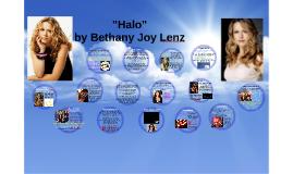 """""""Halo"""" by Bethany Joy Lenz"""