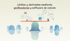 Limites y derivadas mediante graficadores