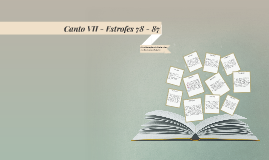 Canto VII - Estrofes 78 - 87