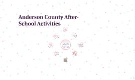 Anderson County After-School Activities