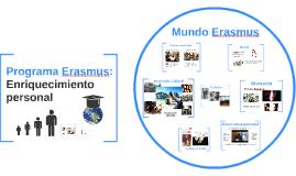 Programa Erasmus: un enrequecimiento personal