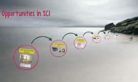 SCI opportunities