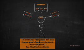 Elaboración de Programa de Salud Ocupacional e Implementació