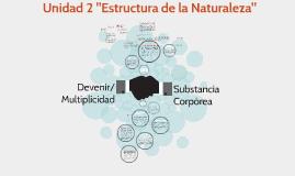 "Unidad 2 ""Estructura de la Naturaleza"""