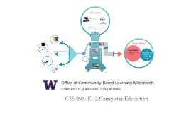 CSS 295: K-12 Computing
