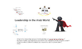 Leadership in the Arab World