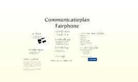 Communicatieplan FairPhone
