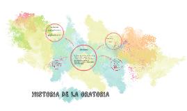 HISTORIA DE LA ORATORIA