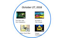 October 27, 2016
