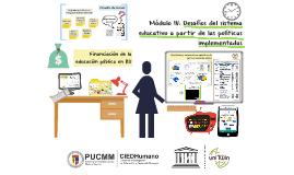 Financiación de la educación pública en RD
