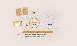 Copy of Recuperación Mejorada. Tonny Iturriago