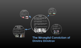 The Wrongful Conviction of Dimitre Dimitrov