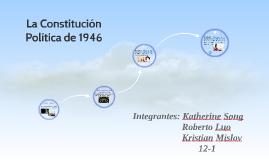 La Constitución política de 1946