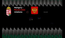 Hungary - Russia (SU) relations