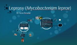 Leprosy (Mycobacterium Leprae)
