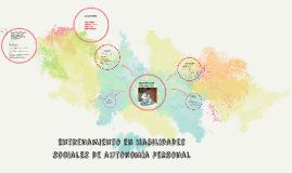 Entrenamiento en habilidades sociales de autonomía personal