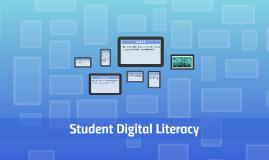 Student Digital Literacy