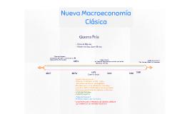 Nueva Macro Economía Clásica