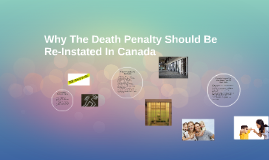 Why The Death Penalty Should Be Re-Instated In Canada