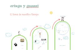 Ortega y Gasset para selectividad 2013
