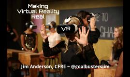 Making Virtual Reality Real - IFC 2016