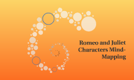 Romeo and Juliet Characters Mind-Mapping
