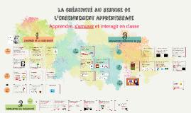 La créativité au service de l enseignement apprentissage BUDAPEST 2018