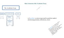 test academic essay