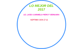 LO MEJOR DEL 2017