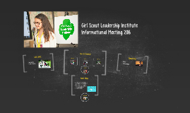 Girl Scout Leadership Institute 2016