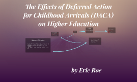 The Effects of Deferred Action for Childhood Arrivals (DACA)