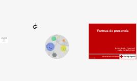 Copy of Formas de presencia