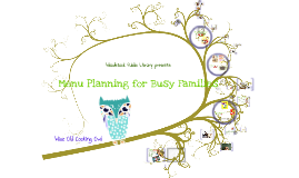Copy of Menu Planning for Busy Families