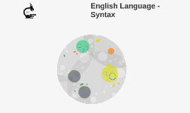 English Language - Syntax