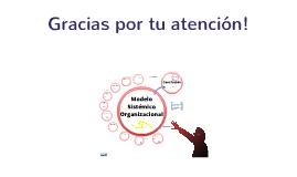 Modelo sistémico organizacional