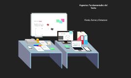 Copy of Aspectos fundamentales del  Texto  Fondo, Forma y Estructura