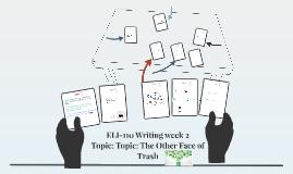 ELI-110 Writing Week 2