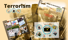 Terrorism: An Introduction