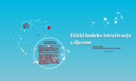 Etički kodeks istraživanja s djecom